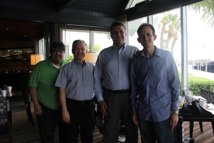Michael De Gruccio, Mark McCarthy,, David Bitner, Richard DeNapoli