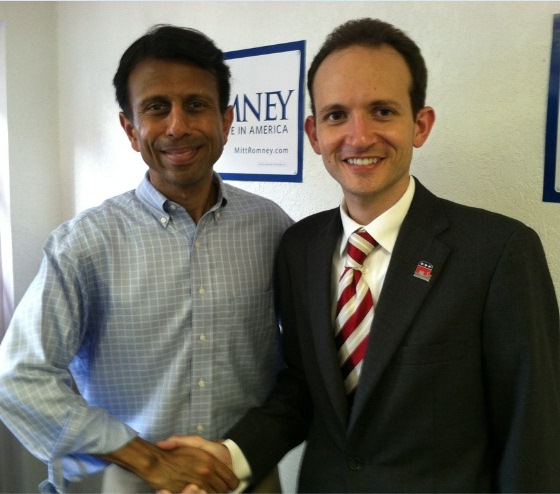 Louisiana Governor Bobby Jindal and Chairman Richard DeNapoli