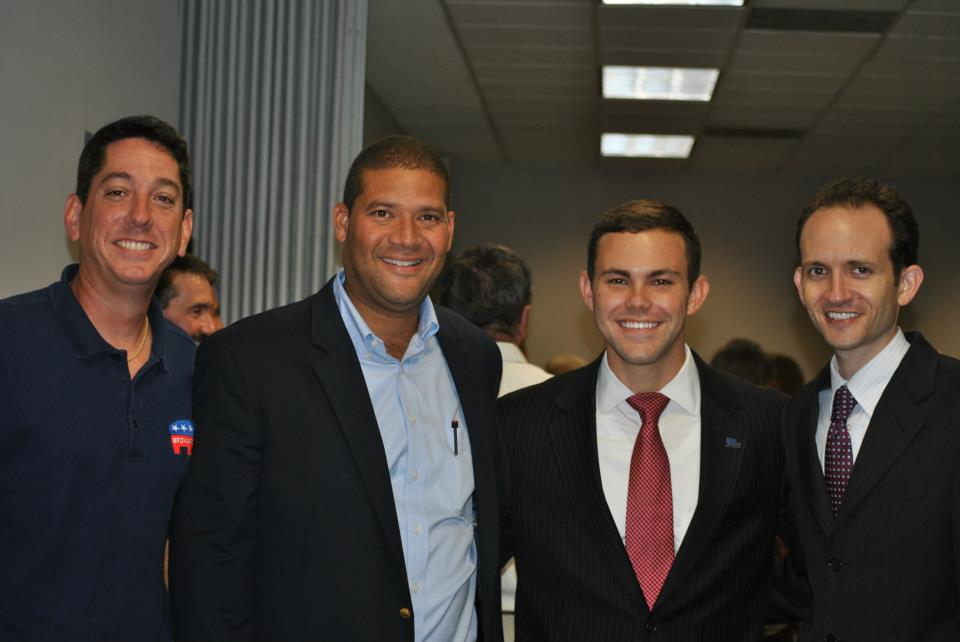 Doug Harrison, Dan Daley, Richard DeNapoli at the Coral Springs Swearing in Ceremony