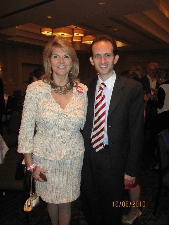 Richard DeNapoli and Sharon Day