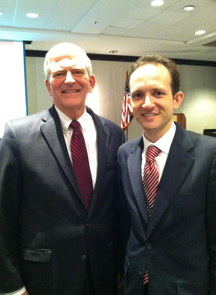 Richard DeNapoli and Congressman Daniel Webster August 2013