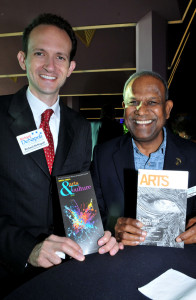 Richard DeNapoli and Kumar Mahadevan at the Sarasota Arts and Cultural Alliance Celebration