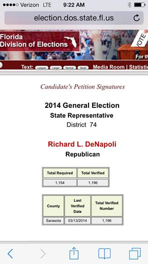 The Supervisor of Elections Website